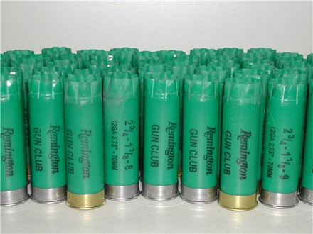 12 Ga Remington Gun Club 1X hulls - LIMITED SUPPLY