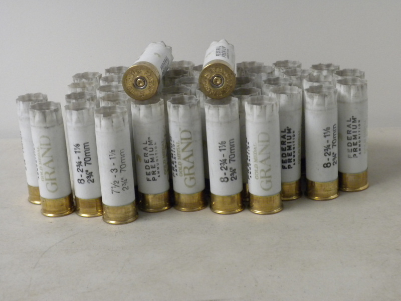 12 Ga Federal Gold Medal 1X hulls - GRANDS - Out of stock